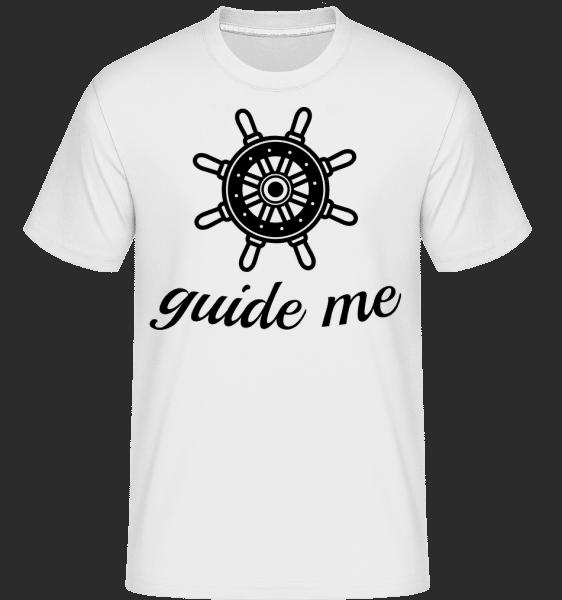 Guide Me - Shirtinator Männer T-Shirt - Weiß - Vorn