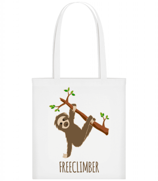 Freeclimber Sloth - Carrier Bag - White - Vorn