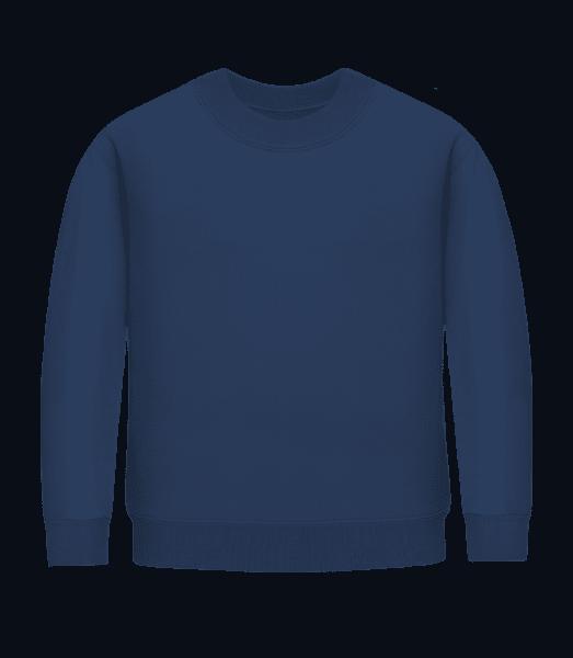Kid's Sweatshirt - Navy - Front