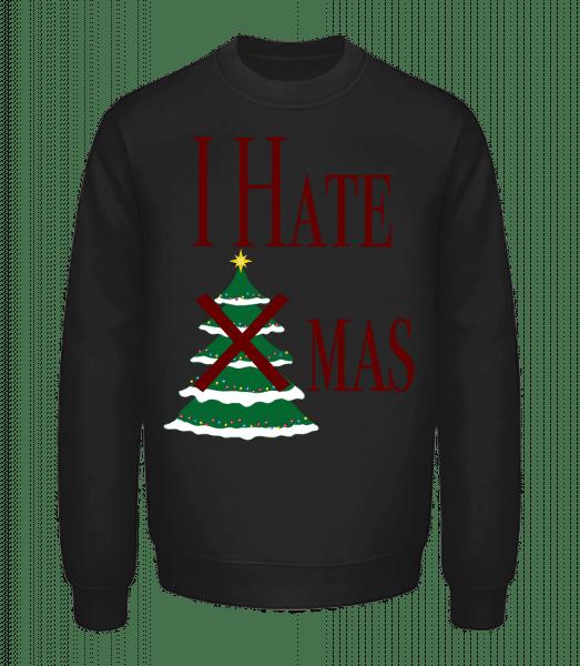 I Hate Xmas - Unisex Sweatshirt - Black - Vorn