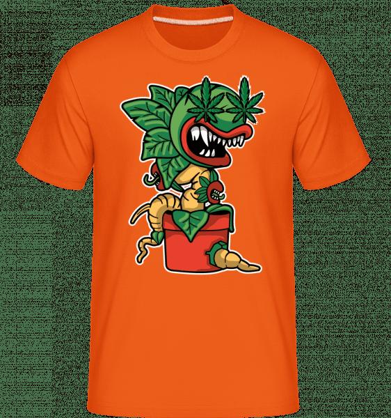 Plant -  Shirtinator Men's T-Shirt - Orange - Front