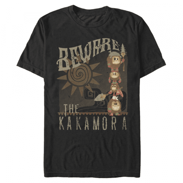 Bewares Kakamora - Pixar Moana - Men's T-Shirt - Black - Front
