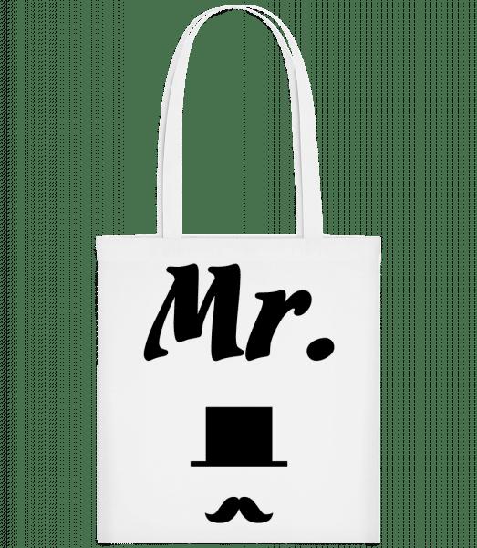 Mr. Wedding - Carrier Bag - White - Vorn