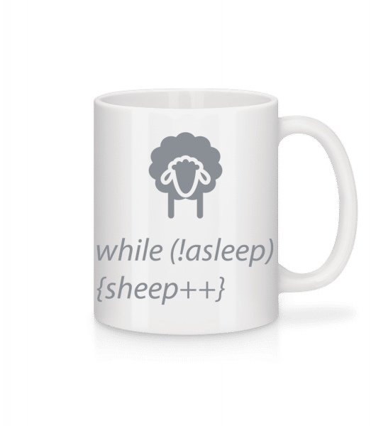 While Not Asleep - Mug - White - Vorn