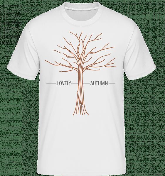 Lovely Autumn -  Shirtinator Men's T-Shirt - White - Vorn