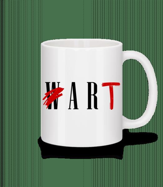 Art Not War - Mug - White - Vorn