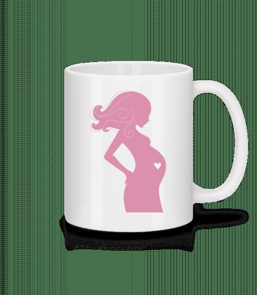 Pregnant Love - Mug - White - Vorn