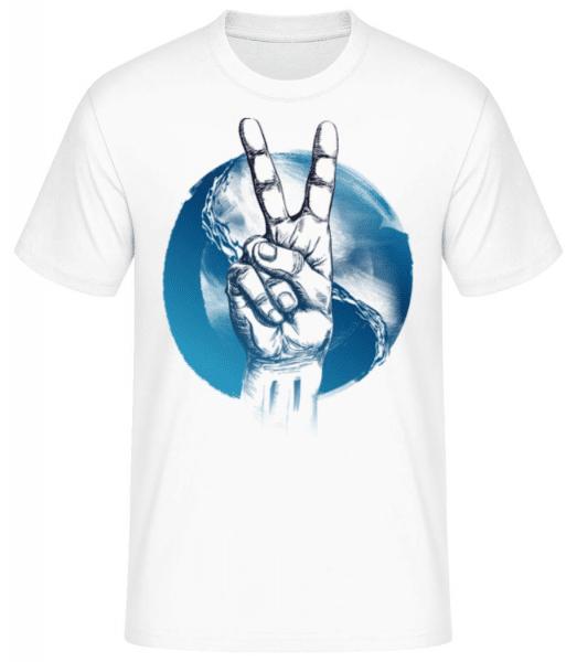 Pièce De L'Océan - Men's Basic T-Shirt - White - Front