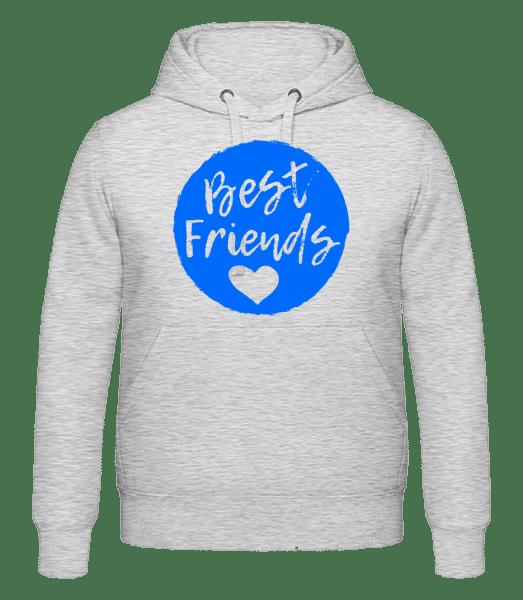 Best Friends Love - Men's hoodie - Heather grey - Vorn