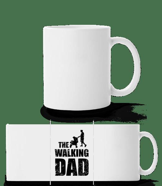 The Walking Dad - Panorama Mug - White - Vorn