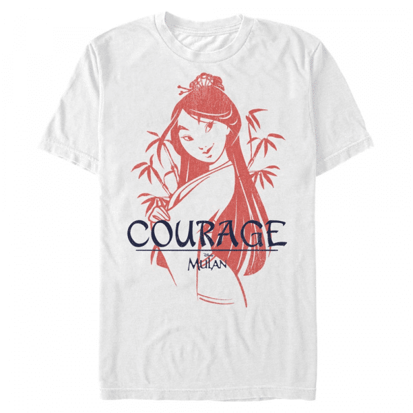 Mulan Warrior - Disney - Men's T-Shirt - White - Front