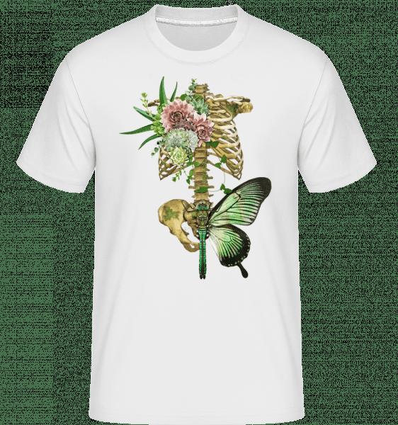 Artful Spine -  Shirtinator Men's T-Shirt - White - Vorn