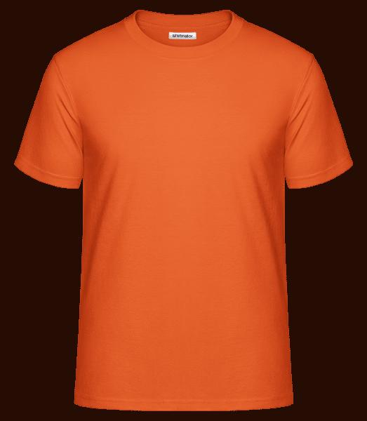 Men's Shirtinator Basic Shirt  - Orange - Vorn