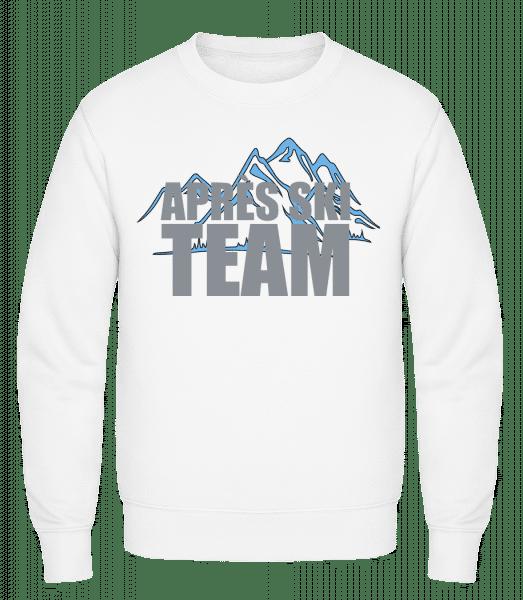 Team Après Ski - Classic Set-In Sweatshirt - White - Vorn