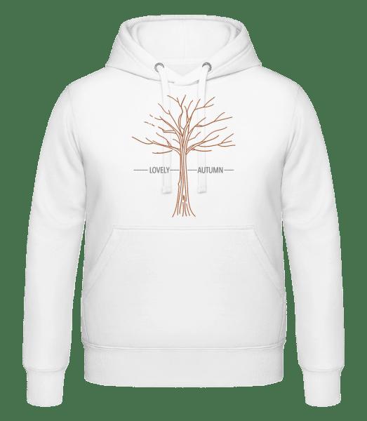 Lovely Autumn - Unisex Hoodie - White - Vorn