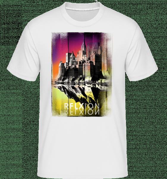 Reflexion -  Shirtinator Men's T-Shirt - White - Vorn