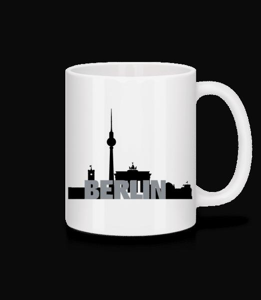 Berlin Germany - Mug - White - Vorn