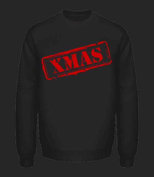 XMAS Logo - Unisex mikina - Černá - Napřed