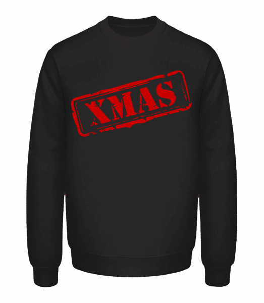 XMAS Logo - Unisex Sweatshirt - Black - Vorn