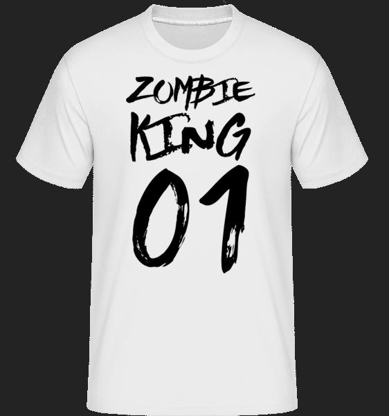 Zombie King - Shirtinator Männer T-Shirt - Weiß - Vorn