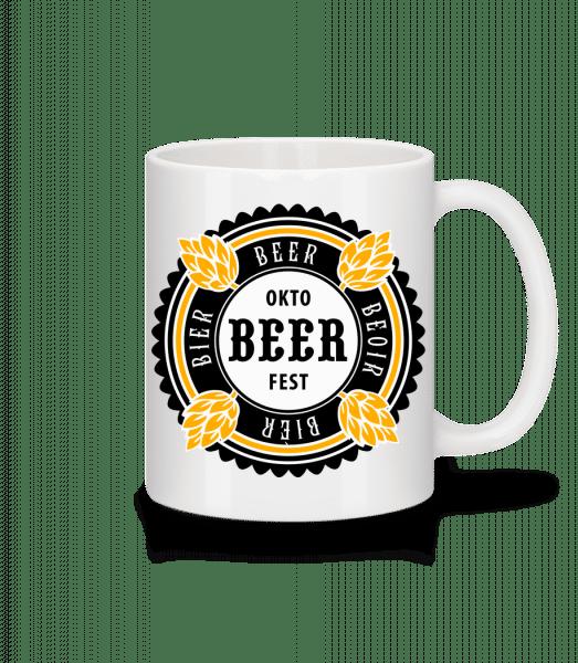Oktobeer Fest - Mug - White - Vorn