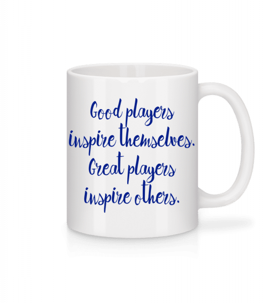 Great Players - Mug - White - Vorn