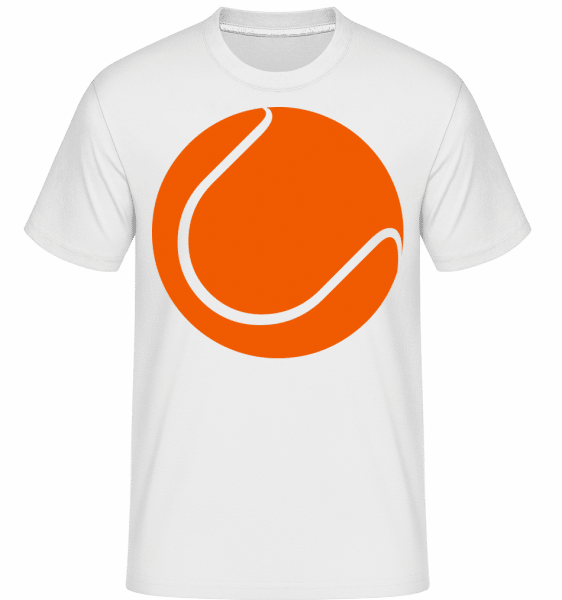 Tennis Ball -  Shirtinator Men's T-Shirt - White - Vorn
