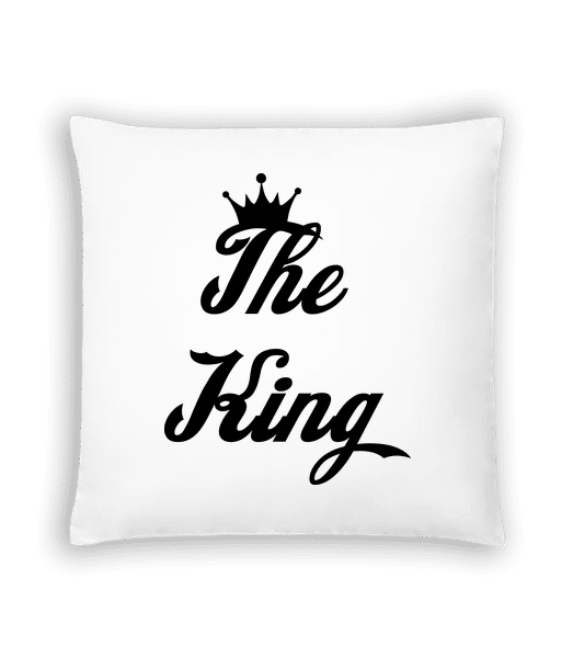 The King - Cushion - White - Vorn