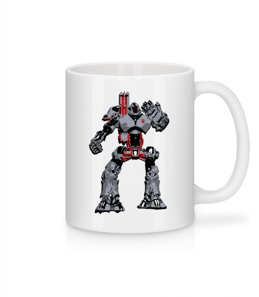Fighting Robots - Mug - White - Vorn