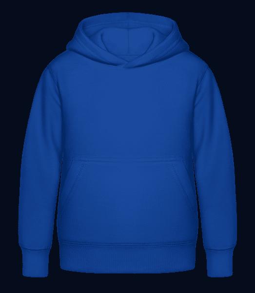 Kid's Hoodie - Royal blue - Vorn
