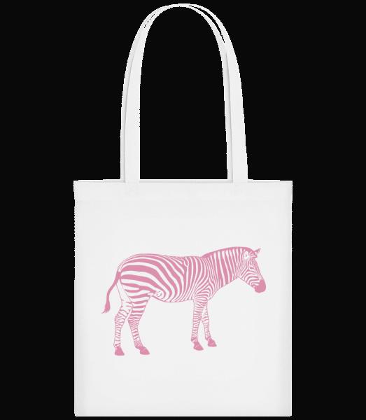 Zebra - Carrier Bag - White - Vorn