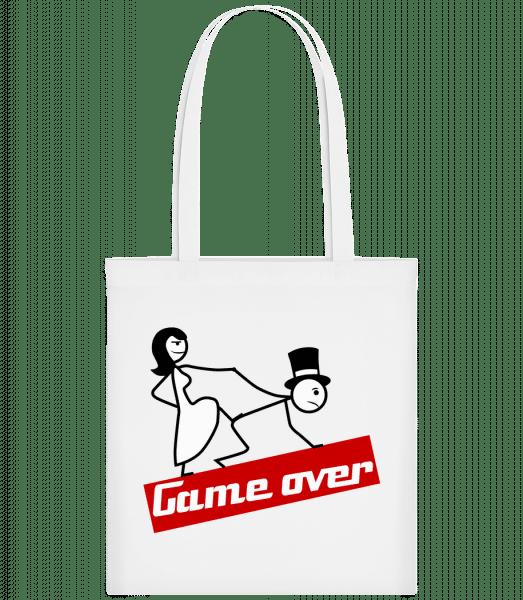 Game Over - Carrier Bag - White - Vorn