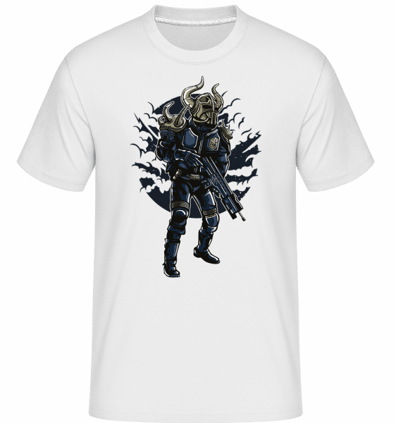 Viking Soldier -  Shirtinator Men's T-Shirt - White - Vorn