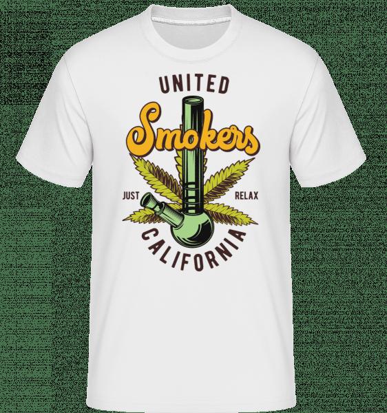 United Smokes - Shirtinator Männer T-Shirt - Weiß - Vorn