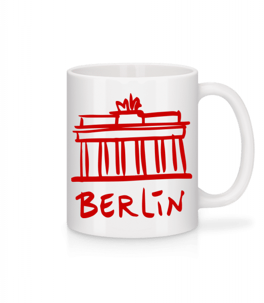 Berlin Sign - Mug - White - Front