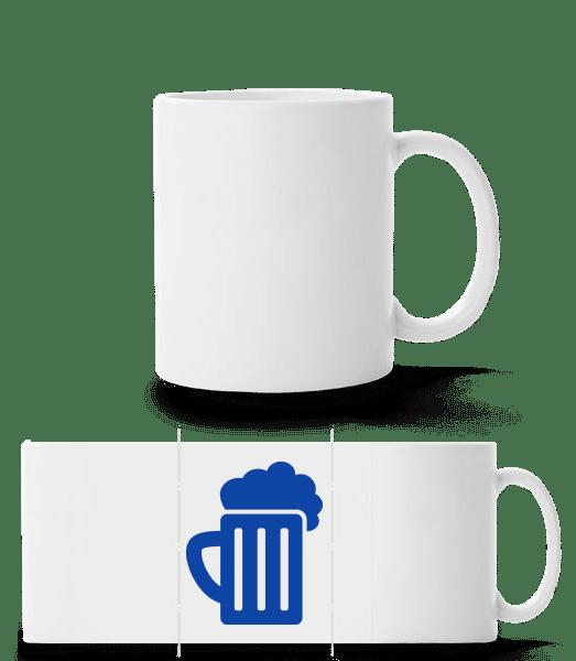 Beer - Panoramatasse - Weiß - Vorn
