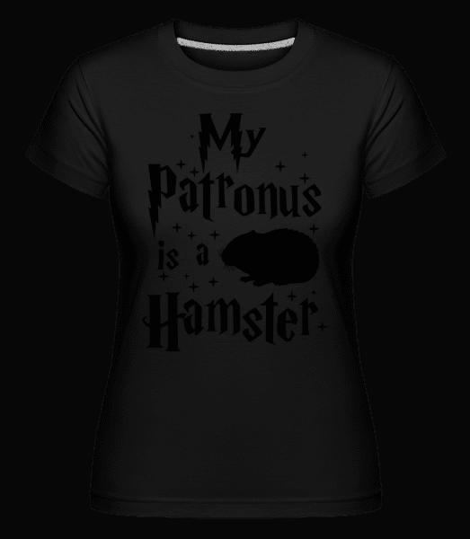 My Patronus Is A Hamster -  Shirtinator tričko pre dámy - Čierna1 - Predné