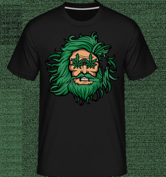 Zeus Weed -  Shirtinator Men's T-Shirt - Black - Front