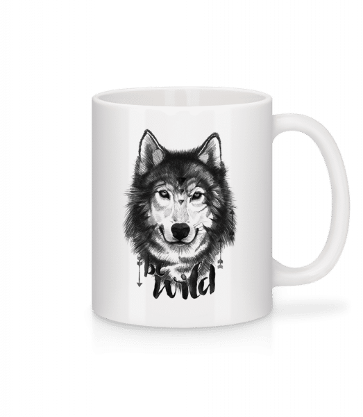 Be Wild - Mug - White - Vorn