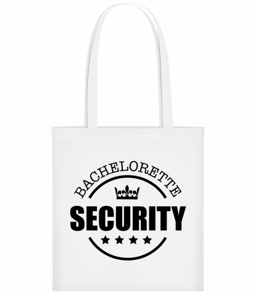 Bachelorette Security - Sac tote - Blanc - Vorn