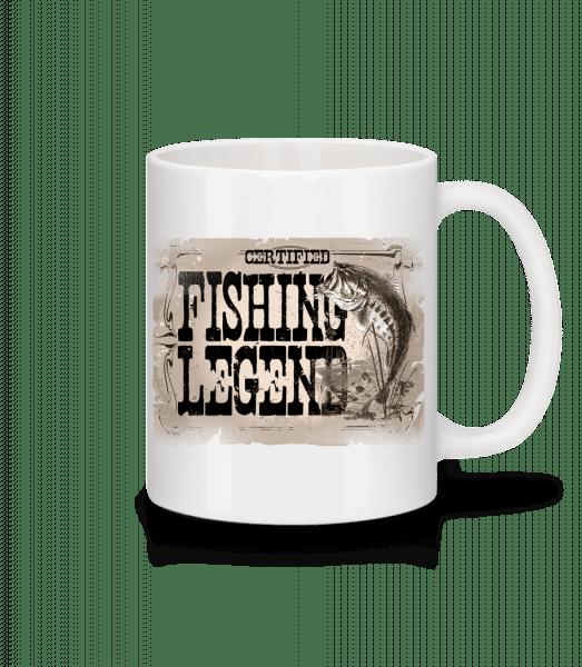 Fishing Legend - Tasse - Weiß - Vorn