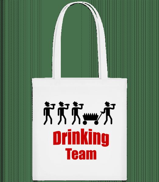Drinking Team - Carrier Bag - White - Vorn