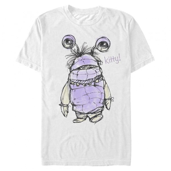 Boo Kitty - Pixar Monster's Inc. - Men's T-Shirt - White - Front