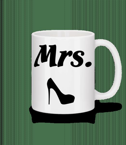 Mrs. Wedding - Mug - White - Vorn