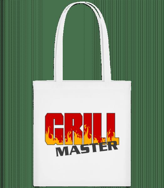 Grill Master - Carrier Bag - White - Vorn
