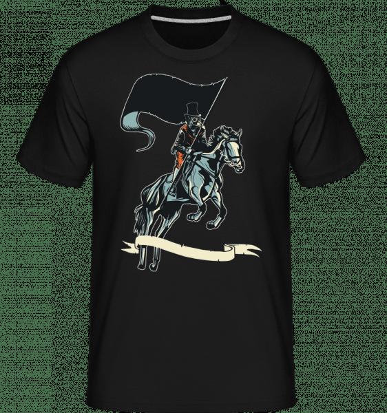 Plague Doctor -  Shirtinator Men's T-Shirt - Black - Front