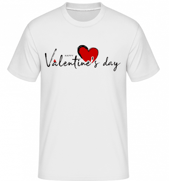 Valentines Day -  Shirtinator Men's T-Shirt - White - Vorn