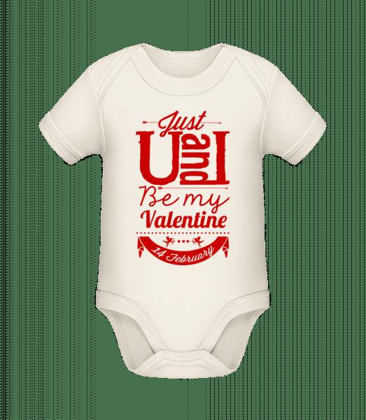 Be My Valentine Red - Organic Baby Body - Cream - Vorn