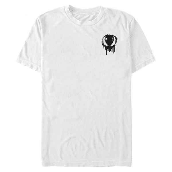 Venom Badge - Marvel - Men's T-Shirt - White - Front