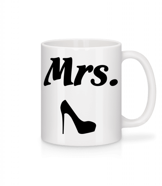 Mrs. Wedding - Tasse - Weiß - Vorn